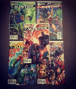 Justice League issue #2-6