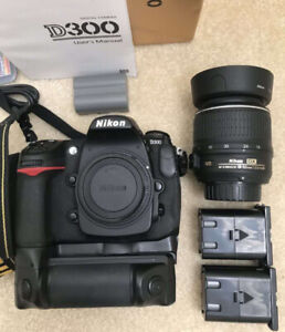 Nikon D300 with all accessories