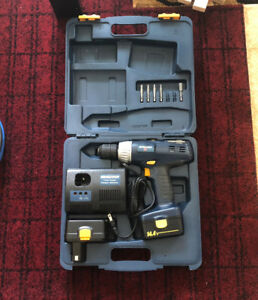 Mastercraft 14.4 Volt Drill with Charger