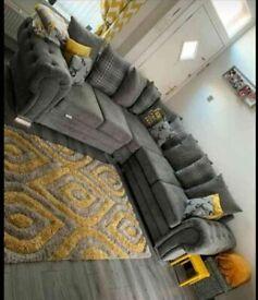 🔵💖🔴AMAZING SALE🔵💖🔴Brand New Verona 3+2 / Corner Sofa / Swivel Chair / Footstool