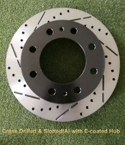 NEW ARRIVALS CROSS DRILLED/SLOTTED/COATED ROTOR / PADS