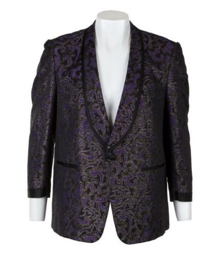 BB King OWNED & WORN Custom Made Black & Gold Stage Jacket Coat JULIEN