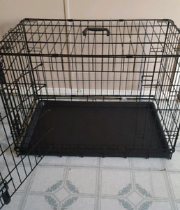 Double door dog kennel