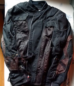 motorcycle jackets, M and XL