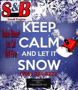 Is your Snowblower ready to go?