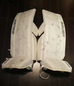 Hardly Used Bauer Supreme One90 Goalie Pads 36+1