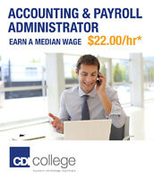 Train to Become an Accounting and Payroll Administrator