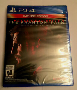 PS4 Metal Gear Solid V The Phantom Pain - Brand New