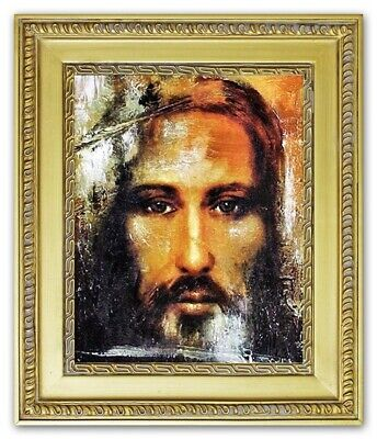 tus Handarbeit Ölbild Bild Ölbilder Rahmen Bilder G01093 (Religiöses Kunsthandwerk)