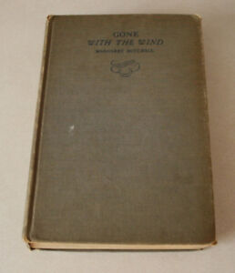 Gone With The Wind, Pub By The MacMillan Co. 1936 in New York