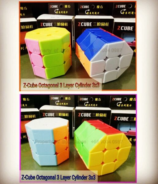- Z-Cube Octagonal 3 Layer Cylinder Cube 3x3 for sale -  Brand New !