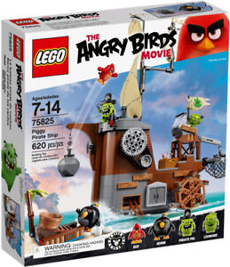 LEGO The Angry Birds Movie: Piggy Pirate Ship #75825