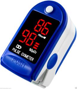 Dagamma Pulse Oximeter DP100 In Blue Sapphire