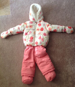 Baby and Toddler Girl Snowsuits, Hats, Toques, Mittens, Boots