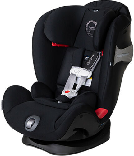Cybex Eternis S Sensorsafe Convertible Car Seat Lavastone Black New!