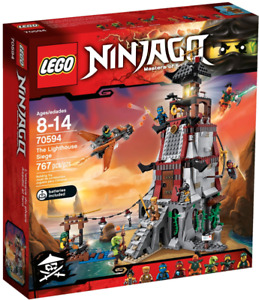 LEGO Ninjago 70594 - The Lighthouse Siege - NEUF!
