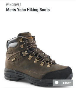 Men's Wind River Hiking Boots - BRAND NEW