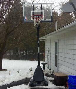 "Spalding 54"" Basketball Hoop System"