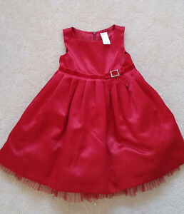 Gymboree Red Party Dress - 2T Toddler Girl
