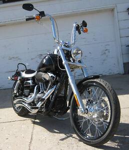 2014 Harley Davidson FXDWG 103 Cubic Inch Wide Glide ONLY 1100 K