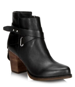 FALL WINTER WISHBONE COLLECTION LEATHER ANKLE BOOTS WOMEN 11