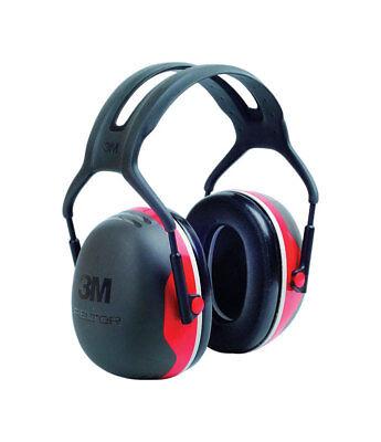 3m 28 Db Reusable Soft Foam Earmuffs Black 1 Pair