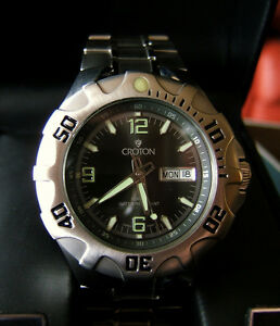 CROTON Mens Automatic Watch NWT