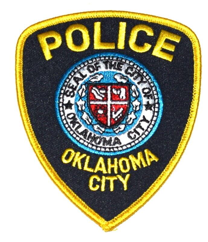 OKLAHOMA CITY OKLAHOMA OK Sheriff Police Patch CITY SEAL SHIELD ~