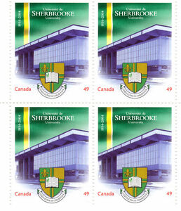 Canada Stamps - Sherbrooke University 1954-2004 49c (4) West Island Greater Montréal image 1