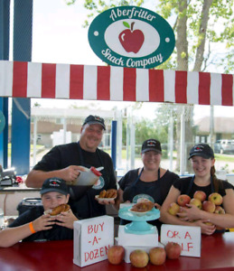 Need help serving apple fritters at busy farmers markets