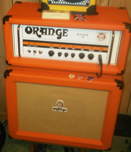 Orange Rocker 30 Head & Cabinet