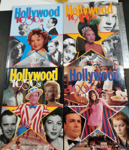 4 Hollywood Gallery Books 30's to 60's Epic Movies Features