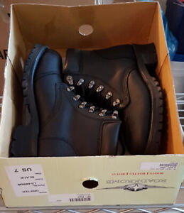 Women's Motorcycle Boots - Brand New