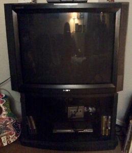 """37"""" SONY TRINITRON XBR TV with STAND"""