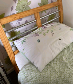 Single bed frame with mattress. Good condition. Delivery available e