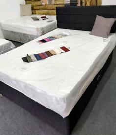 🌟MATTRESS+HEADBOARD DIVAN BED SET– QUALITY COMFORT PRICE - CALL NOW🌟