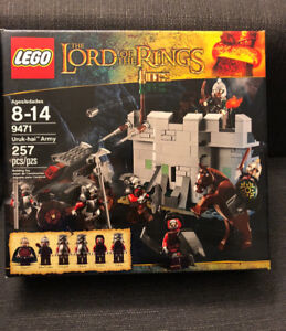 Brand New Lego Lord is the Rings Uruk-Hai Army 9471