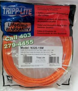 Fiber Cable 15m / 50foot, LC/LC ✪✪ BRAND NEW ✔✔✔ ☎ 403-279-4455