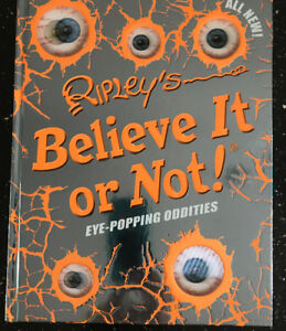 **RIPLEY'S BELIEVE IT OR NOT BOOK FOR SALE**
