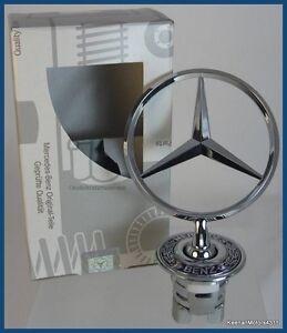 Genuine Oem Mercedes Benz Hood Emblem Star