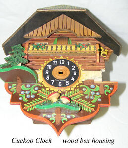 Vintage Cuckoo Clock, West Germany,  needs minor repair