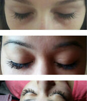 Lash extensions at home CILS a domicile 50$