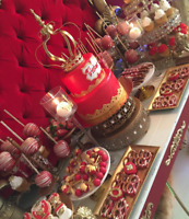 Sweets Tables with Cake & Treats!!