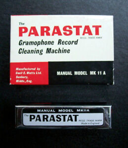 Parastat Record Cleaning Machine