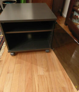 Small TV / Entertainment Stand with glass door