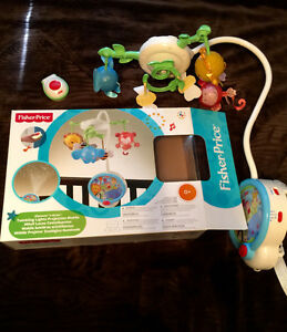 Brand New Fisher Price Mobile paid $75 asking $35.