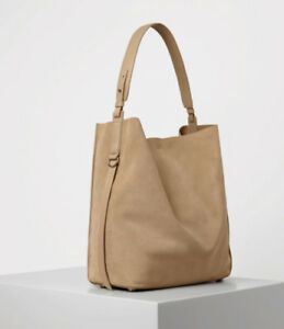 AllSaints Women's Natural Paradise North South Suede Tote