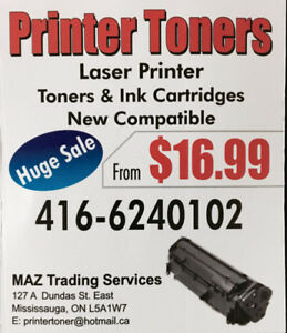 Brother, Canon,HP, Samsung Compatible Toner TN450-128-D101-CF217