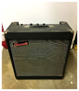 Granada Stencil All-tube Combo Amp (PEPCO Made in Canada)