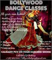 Private Bollywood Dance Classes - At your own home!
